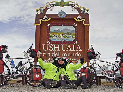WorldRiders2 in Ushuaia